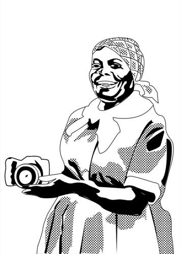 Women Watching--Aunt Jemima