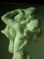 Cartel de la exposicion El cuerpo desnudo, de Rodin