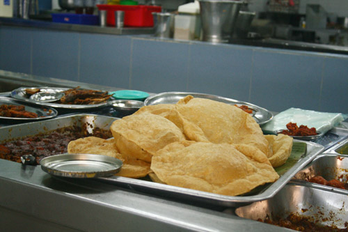 Indian food - puri
