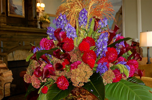 Pebble Beach Floral Arrangement by you.