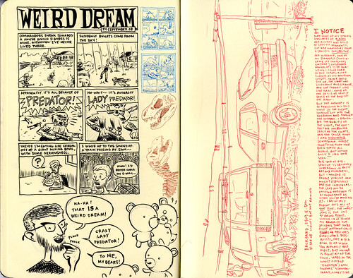 SKETCHBOOK SPREAD | Pages 50-51 by DHARBIN!.