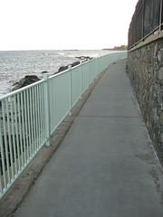 Cliff Walk Near the Mansions of Newport, Rhode Island