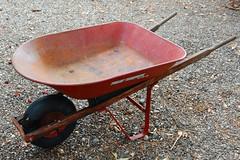 The Old Red Wheelbarrow