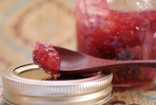 Spiced Fig and Pear Preserves