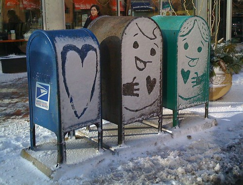 Snow Couple por simonk.