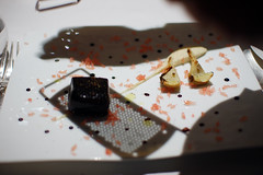 Salmon Poached in Licorice Gel