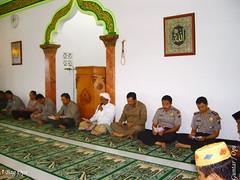 Doa bersama yang diikuti oleh Kapolwil, Kapolres jajaran dan seluruh anggota Polres Bangkalan