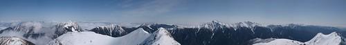 360°パノラマで南アルプス