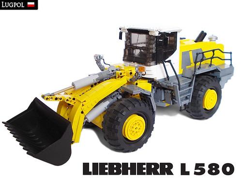 LEGO Liebherr L580