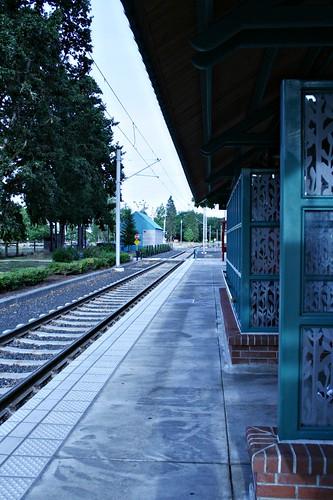 The MAX train platform
