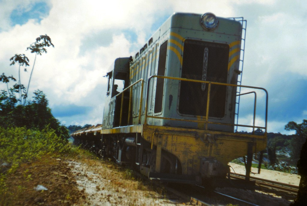 Demba's biggest locomotive, MacKenzie, Guyana