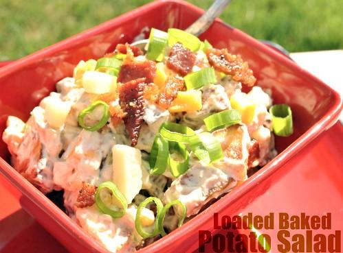 Loaded Baked Potato Salad  (1/2)