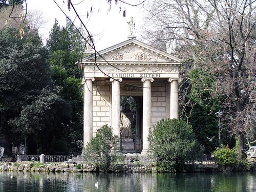 Pond at Villa Borghese