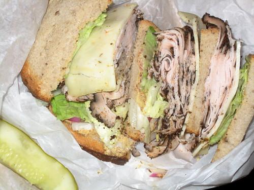 Triple Decker Turkey Sandwich