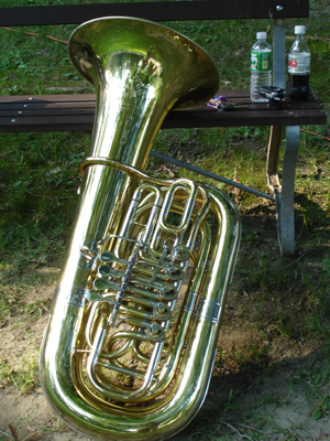 A Tuba of my own!