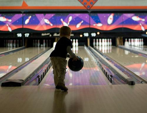 Bowling style!
