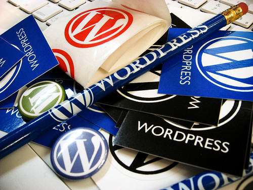 Wordpress Schwag by Peregrino Will Reign, on Flickr