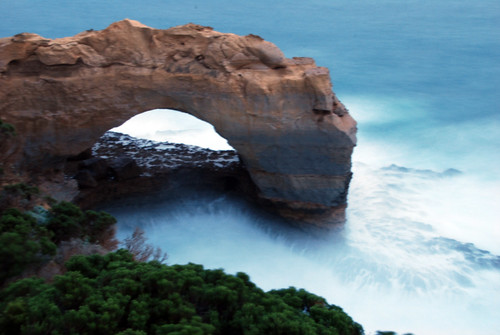 The Arch con exposición prolongada