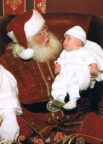 Joe and Santa