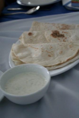 Tzatziki at Greek Taverna