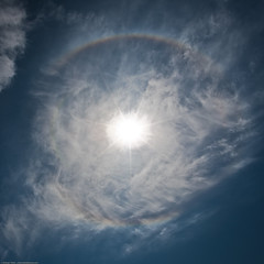 Halo, 22-degree halo, Solar Halo, 22 degree so...