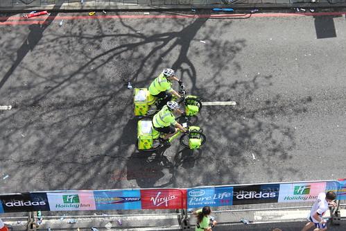 St John's Ambulance - on bicycles