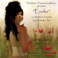 Exhibition @ The Rose Theatre by Domitalia Jinx
