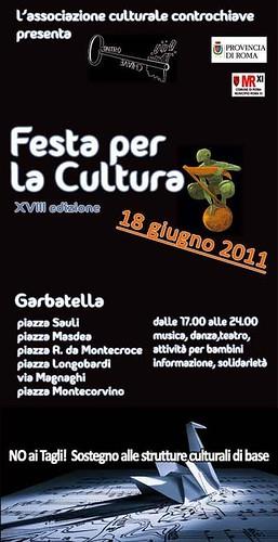 Garbatella 18 giugno Festa per la Cultura by cristiana.piraino