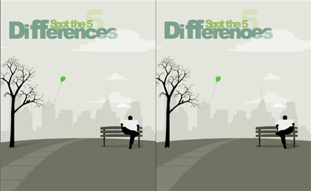 Play 5 Differences