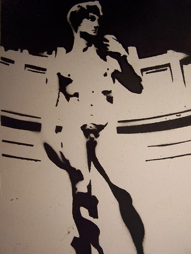 Stencil 1 - Oliver Crellin by you.