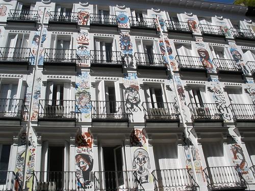 Edificio situado en la calle Orellana 5 de Madrid