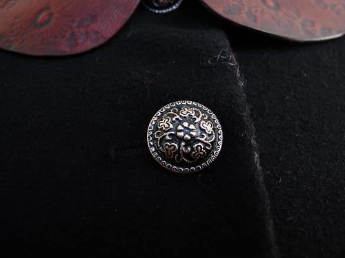 bara baras - coat  button