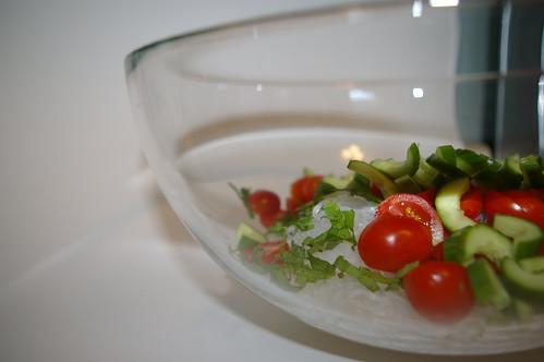 Saifun Salad before the dressing