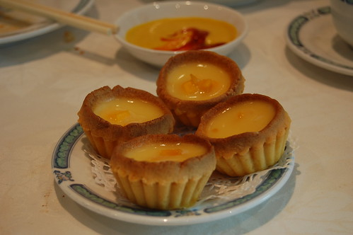 Mango Pudding Tarts