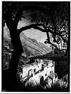M. C. Escher. Costa de Amalfi. 1931.