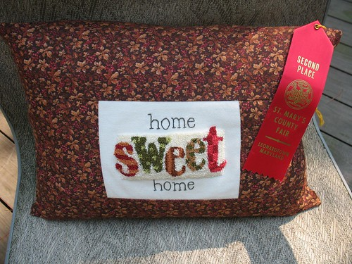 2nd Place Pillow