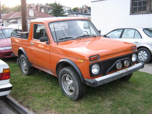 1990 Lada Niva Truck