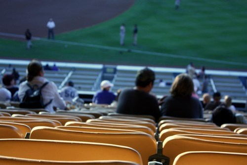 Dodger Stadium Seats