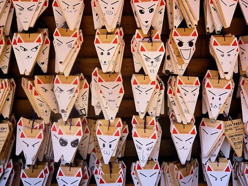 Hundred faces of Kitsune