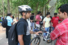 Cycling at Barcamp Bangalore 7