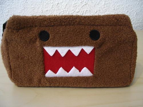 Domo-kun notions bag