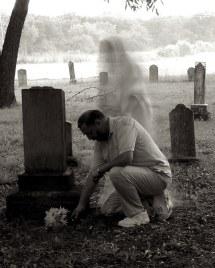 Ghost Woman Kneeling