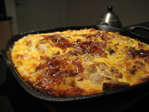 Turkey Leftover Frittata