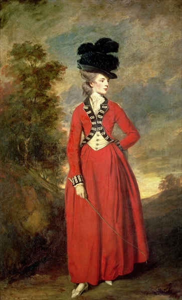 Lady Worsley by Sir Joshua Reynolds 1776