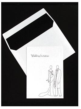 2449927046 eff026665d Baú de ideias: Decoração de casamento preto e branco