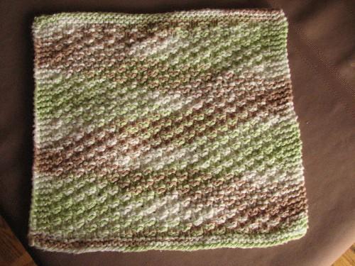 Box Stitch Dishcloth