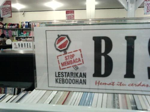 jangan membaca