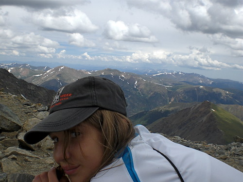 Hiking Grays Peak