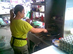 SP char kway teow stall