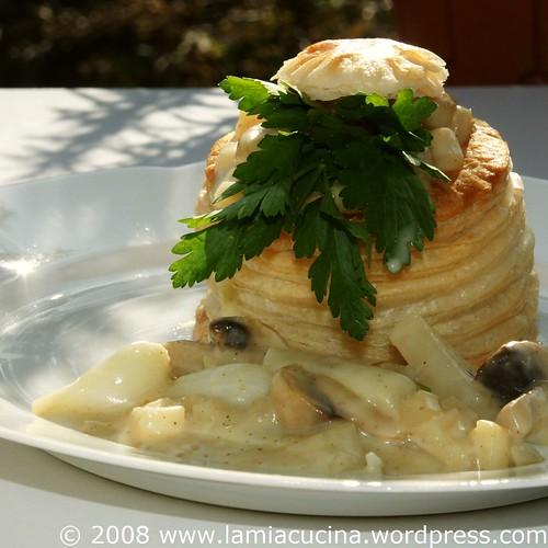 Gemüse-Pilz-Pastetchen
